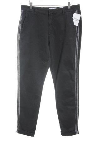 High Waist Jeans schwarz-grau schlichter Stil