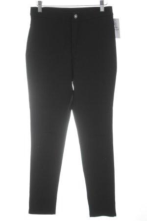 Jeans a vita alta nero stile classico