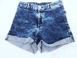 High Waist Jeans Shorts