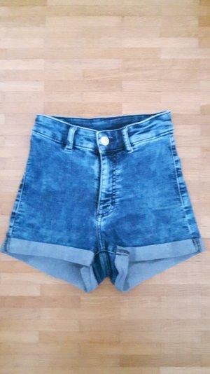 High Waist Jeans-Shorts H&M Gr. 32