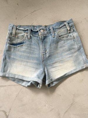 High Waist Jeans Shorts // Levi's