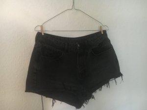 High Waist Jeans Shorts - Used Optik