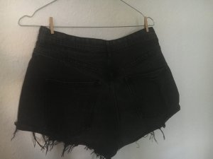High Waist Jeans Shorts - Used Optik
