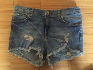 High Waist Jeans Shorts von Zara
