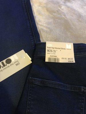 High Waist Jeans Skinny Gr. 26 von Topshop