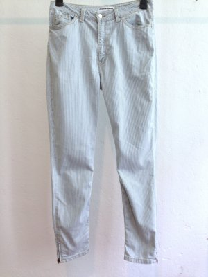 High Waist Jeans von American Apparel mit Streifen, Gr. 31, passt Gr. 42/44