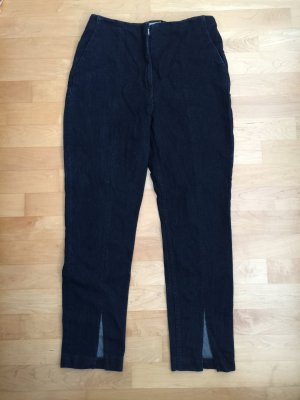 H&M High Waist Jeans dark blue