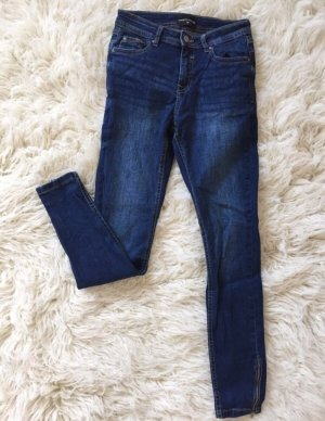 Reserved Hoge taille jeans donkerblauw