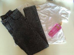 High Waist Jeans von VS MISS grau meliert 40