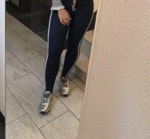 Zara Vaquero de talle alto multicolor