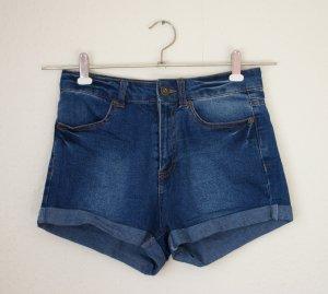 high waist Jeanshotpants von Primark