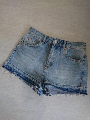 High Waist Jeansshorts, Größe 36