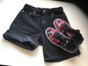 Levi's Pantalón corto de tela vaquera negro-gris