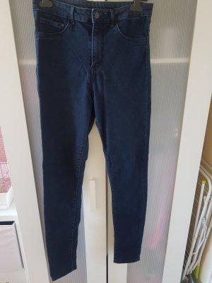 High Waist Jeggings Jeans dunkelblau Größe 31