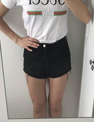 High Waist kurze Jeans Shorts von H&M Gr. 34 sehr sexy und top Zustand