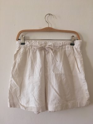 High-Waist-Shorts multicolored linen