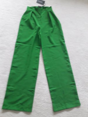 PrettyLittleThing Pantalone Marlene verde