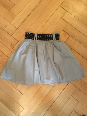 H&M High Waist Skirt light grey