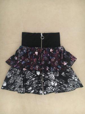 H&M Premium High Waist Skirt multicolored
