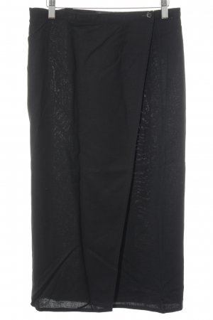 High Waist Rock schwarz Business-Look