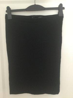 High Waist Rock schwarz von H&M Jersey