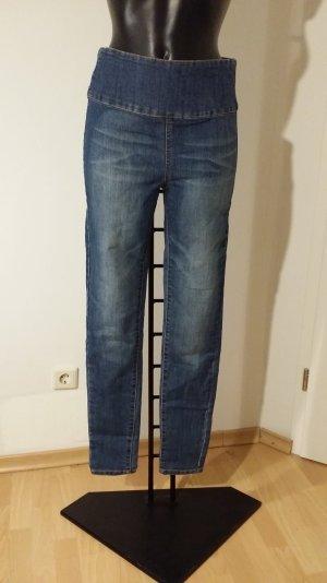 High waist Röhrenjeans