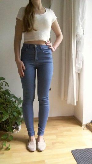High waist Röhrenjeans / Skinny Jeans
