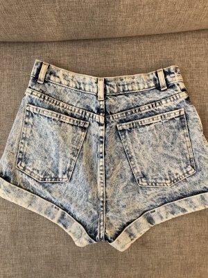 High waist short Gr.36 hellblau american apparel