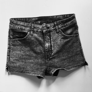 High Waist Short Grau 38