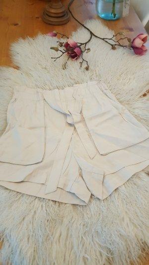 H&M Short blanc cassé