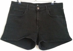 High-Waist Shorts Anthrazit, gr. 40/42