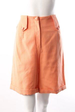 High Waist Shorts apricot