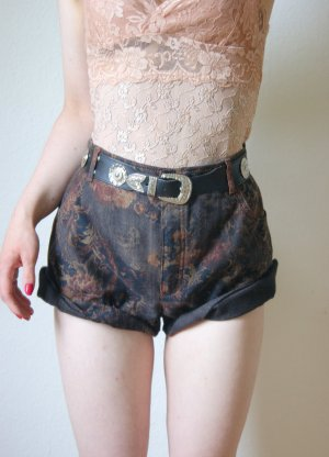 High Waist Shorts Barock, grunge blogger