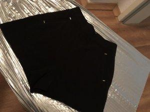 H&M High-Waist-Shorts black-gold-colored