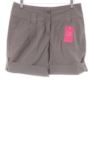 High-Waist-Shorts graubraun Casual-Look
