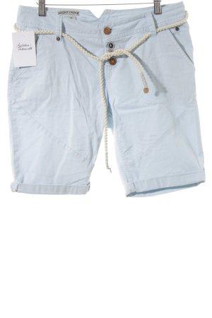 High-Waist-Shorts himmelblau Casual-Look