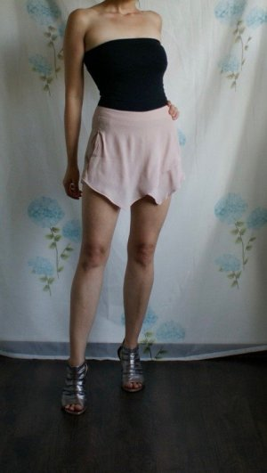 High waist Shorts / Hosenrock - Wickeloptik