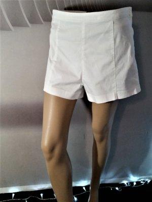 H&M High waist short wit Katoen