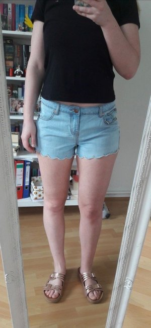 High waist Shorts Hotpants Jeans Sommer