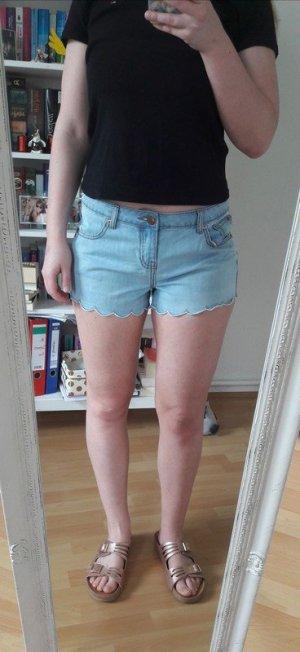 High waist Shorts Hotpants Jeans Sommer