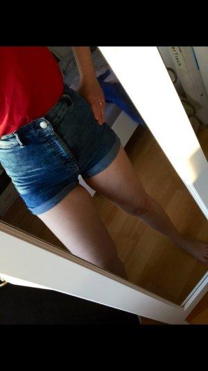 High Waist Shorts Jeans