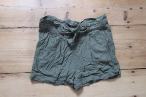 High Waist Shorts Khaki