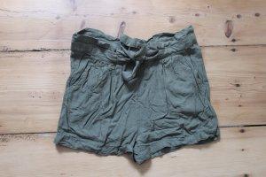 Pimkie Short taille haute gris vert