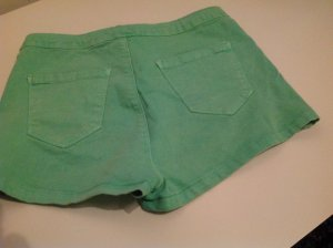 high waist Shorts neon grün