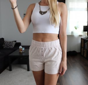 High waist Shorts rosa rose Gr. XS Topshop