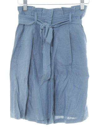 High-Waist-Shorts stahlblau Casual-Look