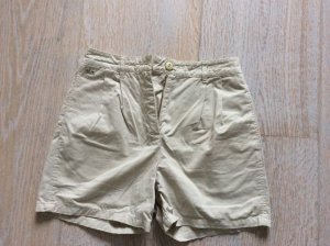 High Waist Shorts von Lacoste in Sand
