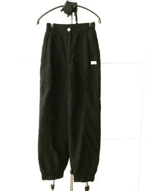 high waist ski hose / vintage / schwarz / winter / snow