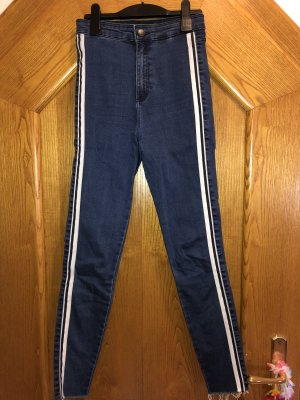High waist/skinny jeans