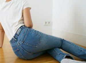 high waist skinny Jeans von Mads